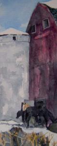 Silo-Watercolor